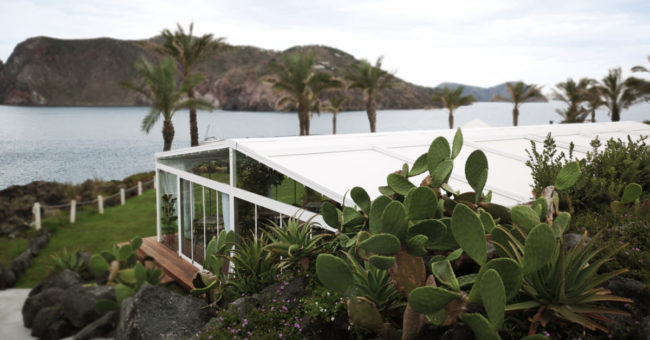AL THERASIA RESORT SEA & SPA SULL'ISOLA DI VULCANO UN PROGETTO PER LA GESTIONE MULTIFUNZIONALE DEGLI SPAZI
