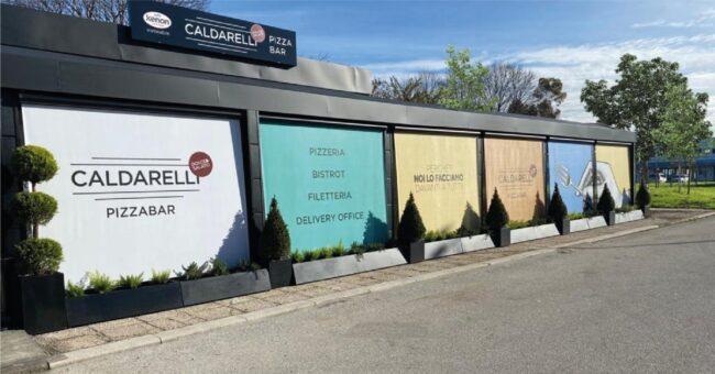 Bar ristorante Caldarelli presso il Cis di Nola